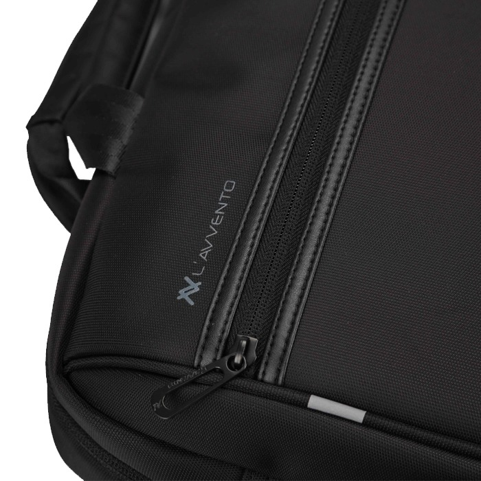 "L'avvento (BG267) Laptop Office Bag - 15.6""- Black"