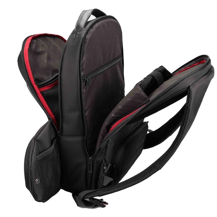 "L'avvento (BG296) - Discovery Laptop Backpack Bag - 15.6"" - Black"