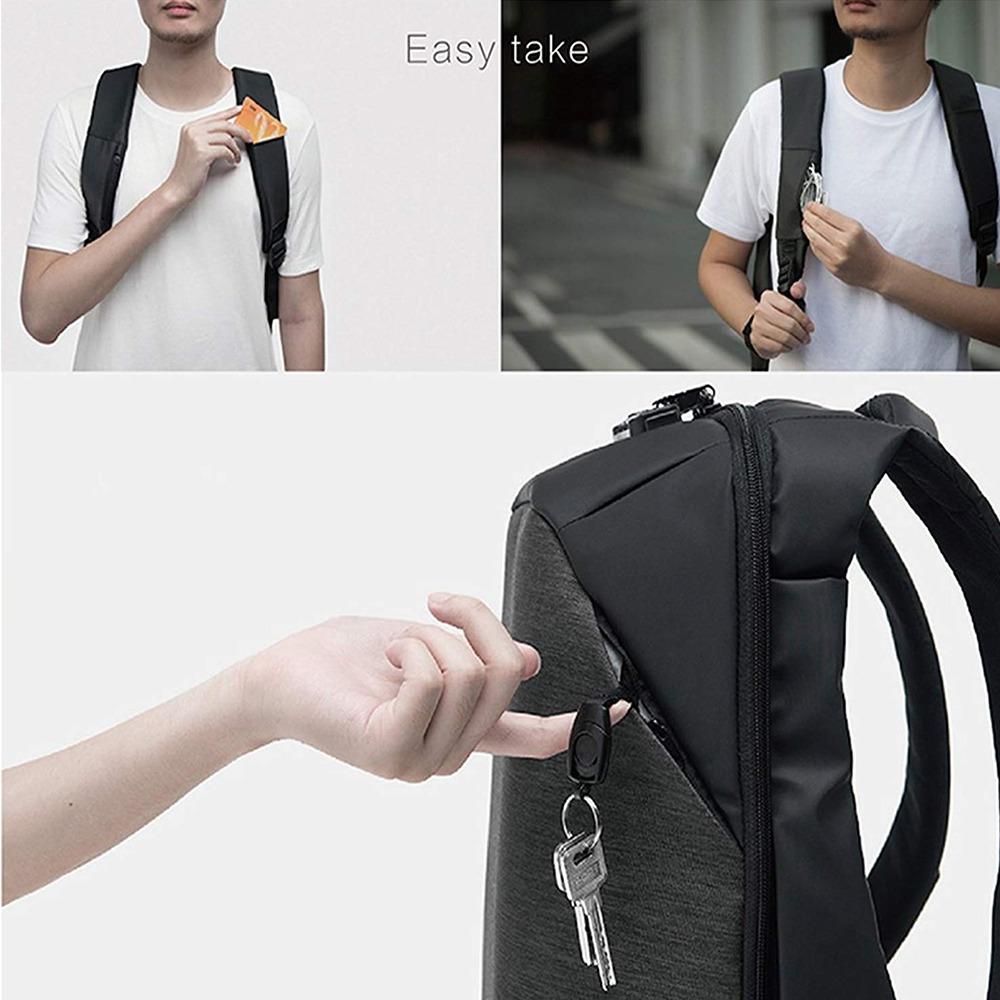 9fba940b3b14f Your browser does not support HTML5 video. ClickPack Backpack Design by  Korin - Business Laptop Backpacks Anti thief Travel Bag - Up to