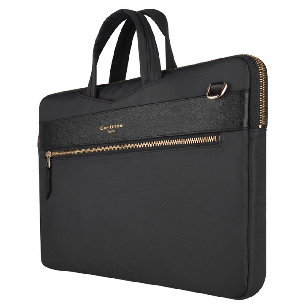 "CARTINOE - London Style Series Laptop Bag - Up to 12"" - Color"
