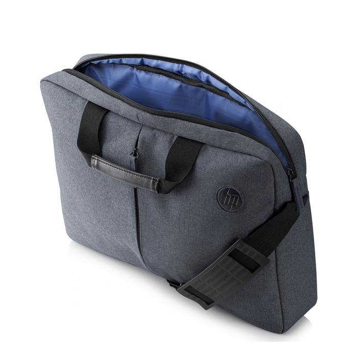 "HP - Laptop Bag in Value Topload Case K0B38AA - 15.6"" - Gray"