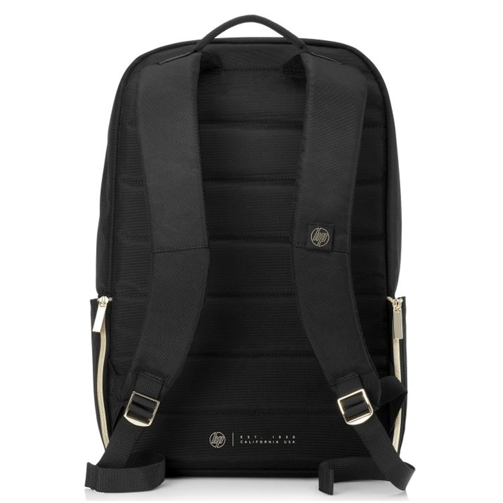 "HP Pavilion Accent Backpack Bag - 15.6"" - Black*Gold - (4QF96AA)"
