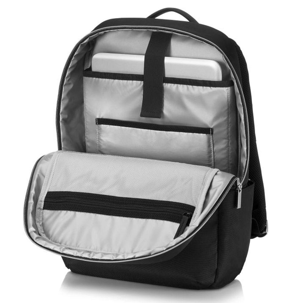 "HP DUOTONE Backpack Bag - 15.6"" - Black*Silver - (4QF97AA)"