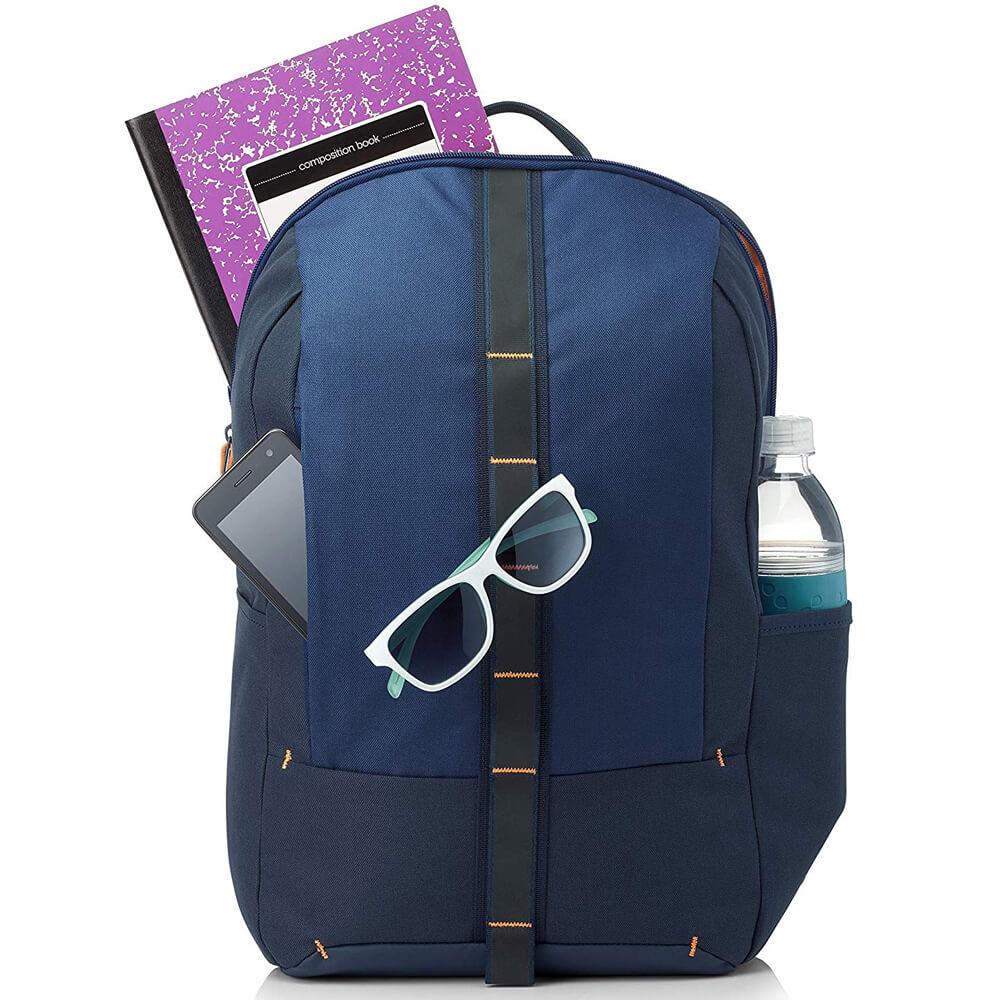 "HP Commuter Backpack Bag - 15.6"" - 5EE92AA - Blue"