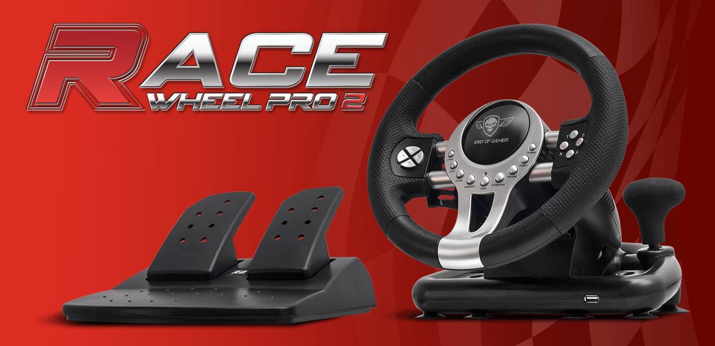 Sprit Of Gamer Race Wheel Pro 2 - Black | 2B Egypt