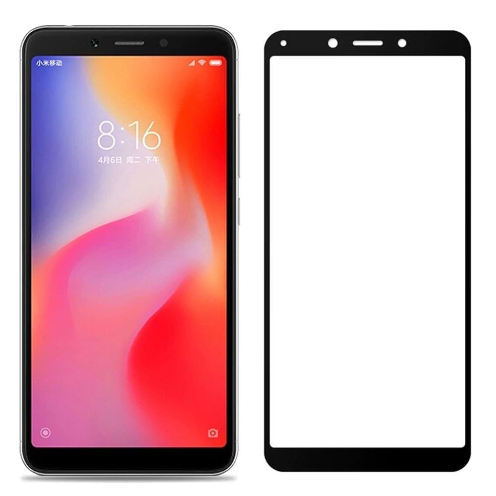Xiaomi Redmi 6A Glass Screen Protector - Black