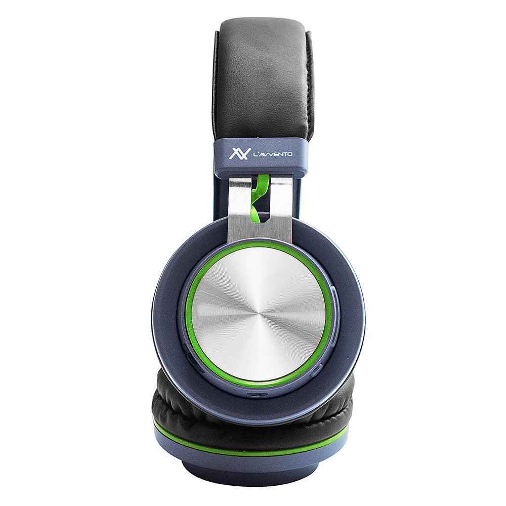 L'avvento (HP07N) - Headphone Multiple touch-button Bluetooth 4.2 - Green