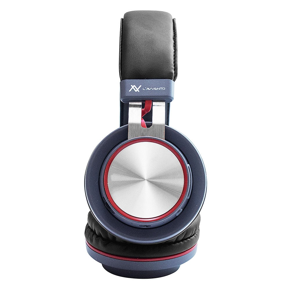 L'avvento (HP07R) - Headphone Multiple touch-button Bluetooth 4.2 - Red