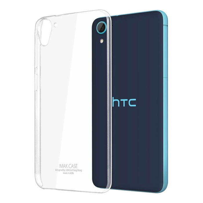 Transparent Back Cover For HTC 826
