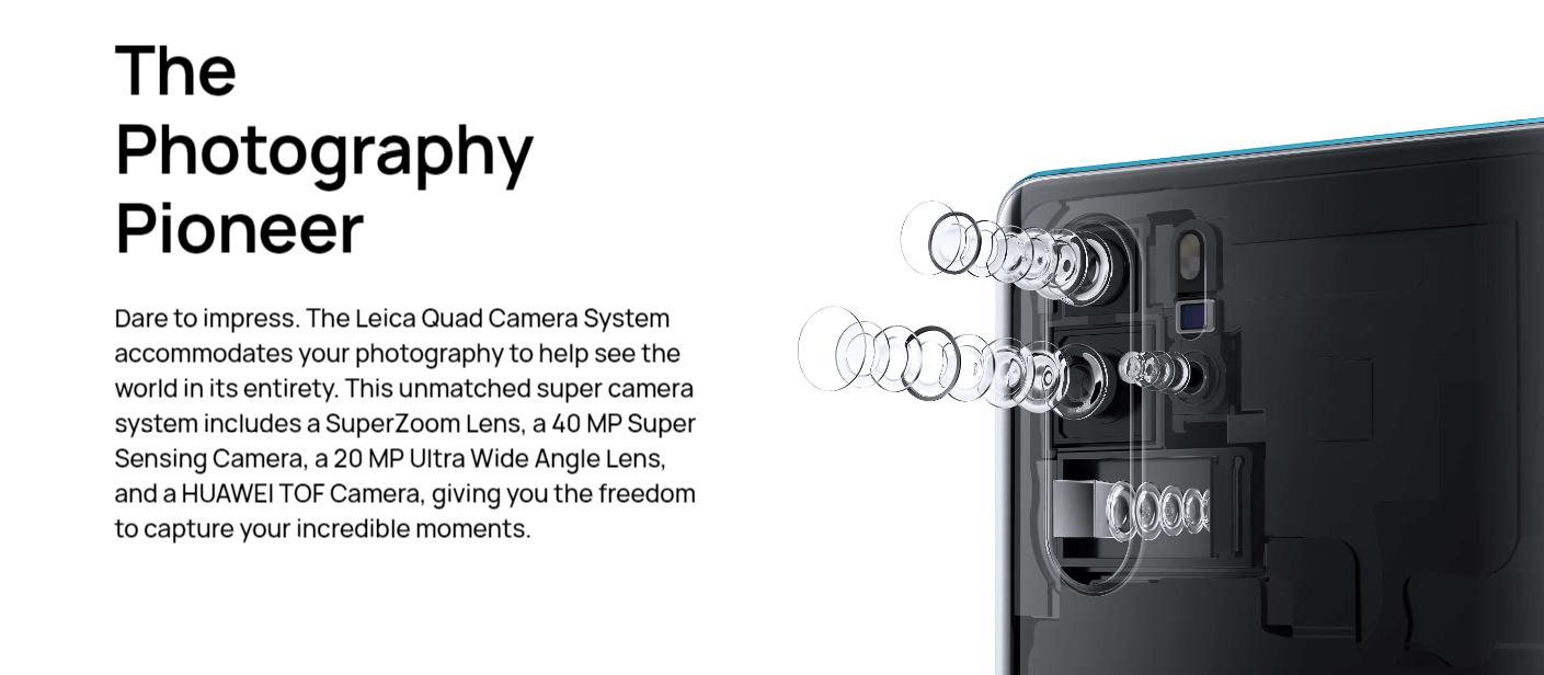 Huawei P30 Pro - 8GB RAM - 256GB - Aurora