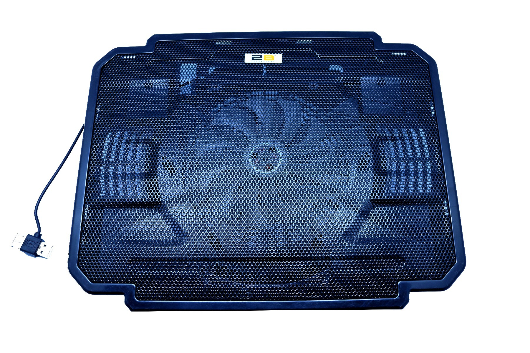 2B (LF003) - Laptop fan, Multicolor design ,Light Led ,shockproof