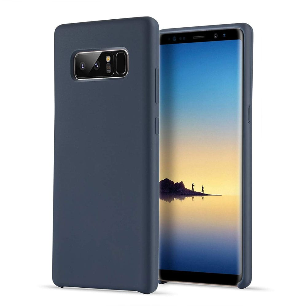 Samsung Galaxy Note 8 Silicone Back Cover - Blue
