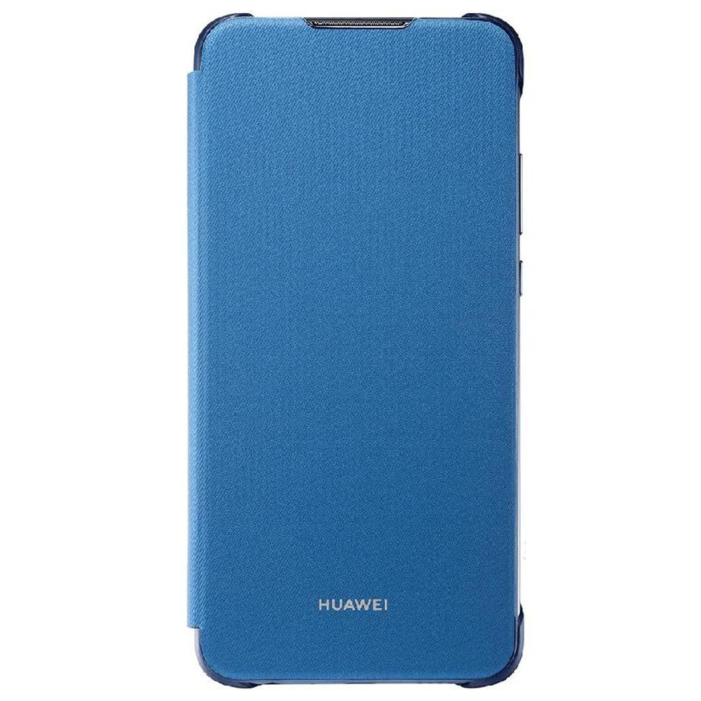 reputable site a57cc 37ea2 Huawei Y9 2019 Flip Cover - Blue