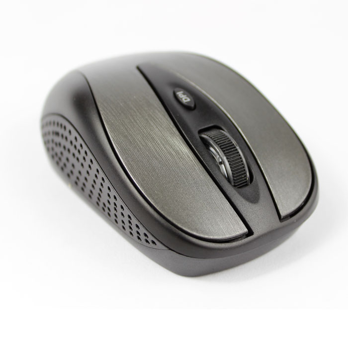 E-Train (MO800) - 2.4G Wireless Optical Mouse - Black*Gray