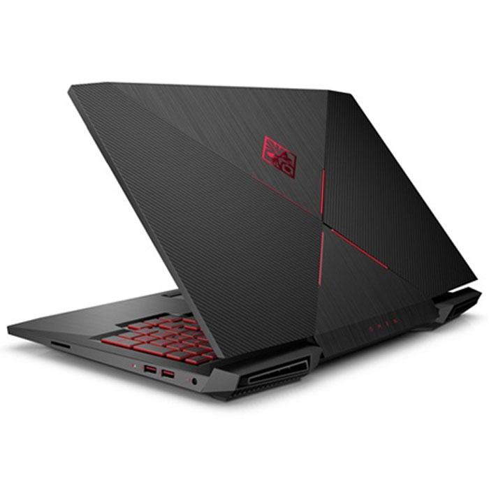 "HP15-CE001NE (Intel Core i7-7700HQ - 16 GB - 1 Tera + 256 SSD - NVIDIA GTX1050 Ti - 15.6 "" - Windows 10) Shadow black"