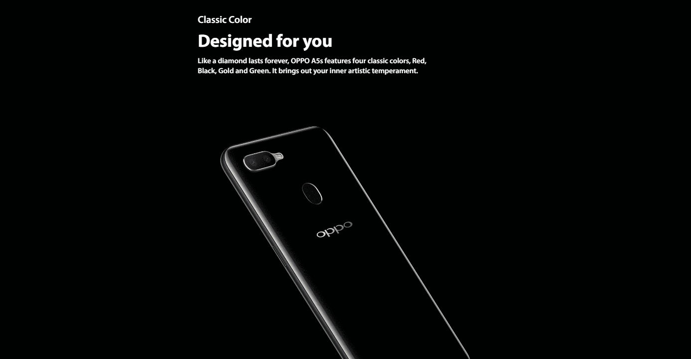 OPPO A5S - 2 GB RAM - 32 GB - Black