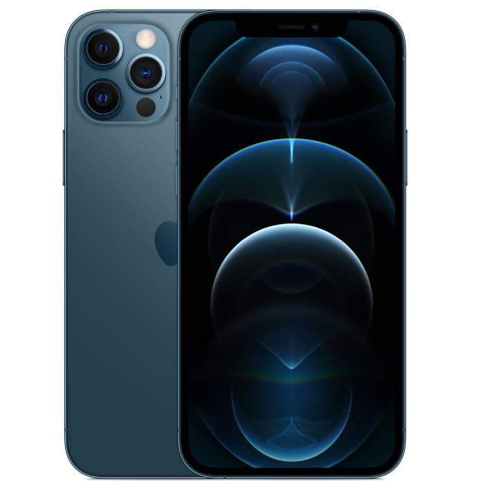Apple iPhone 12 Pro Max - 256GB - Pacific Blue (Official Warranty)