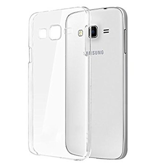 competitive price 9b8b0 35474 Samsung Galaxy J7 Core hard Back Cover - Clear