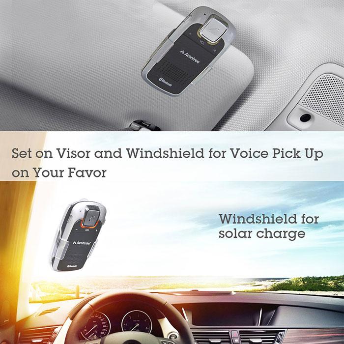 Avantree BTCK-18P - BMW - Bluetooth solar car kit - New Version - Sunday Plus