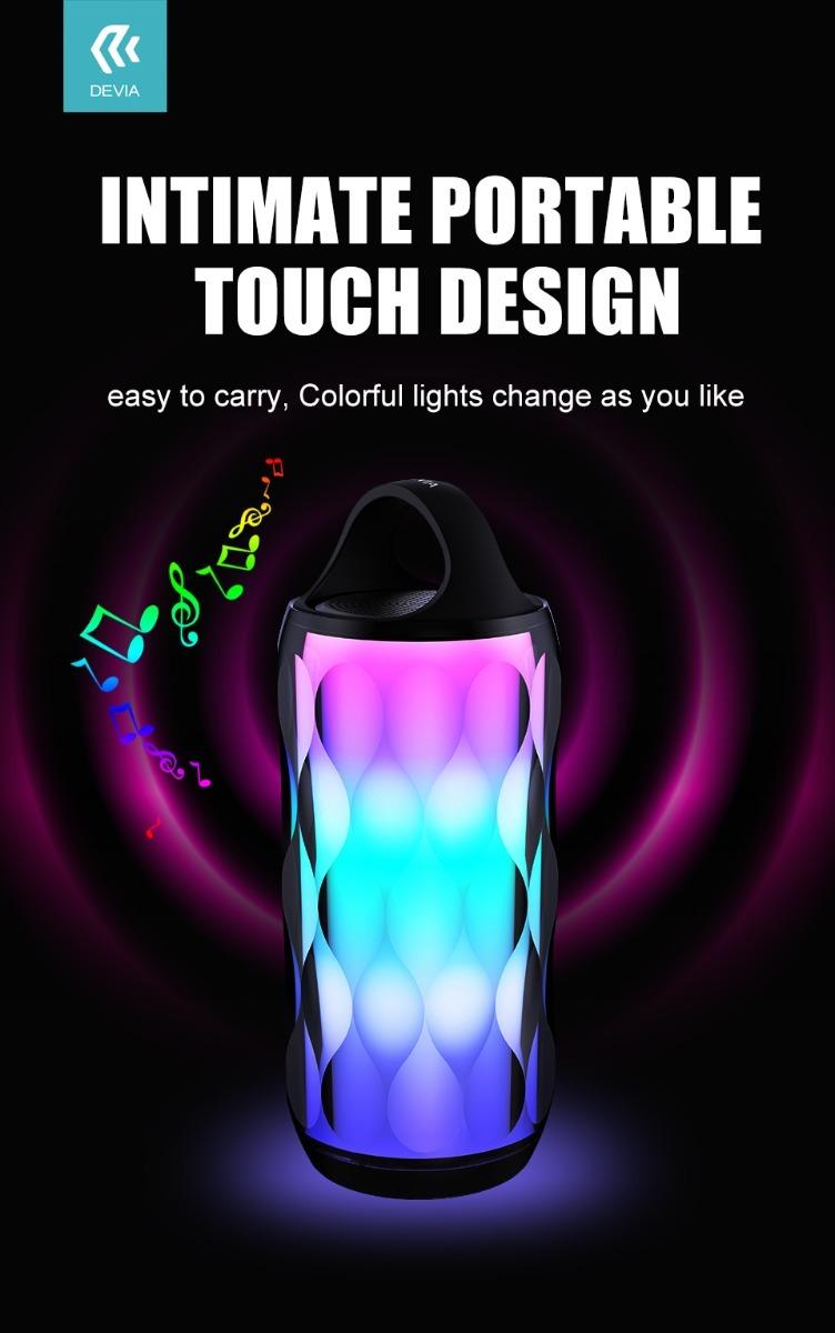 Devia Rainbow Series Stereo Portable Bluetooth Speaker