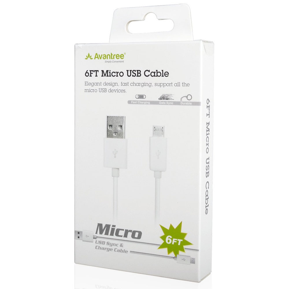 Avantree Micro USB sync charge cable - New Razer