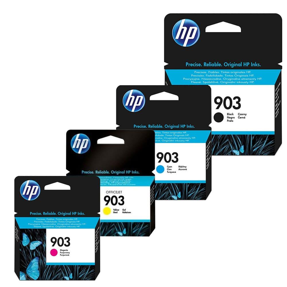 HP Ink 903 Black + HP Ink 903 Cyan + HP Ink 903 Magenta +HP Ink 903 Yellow
