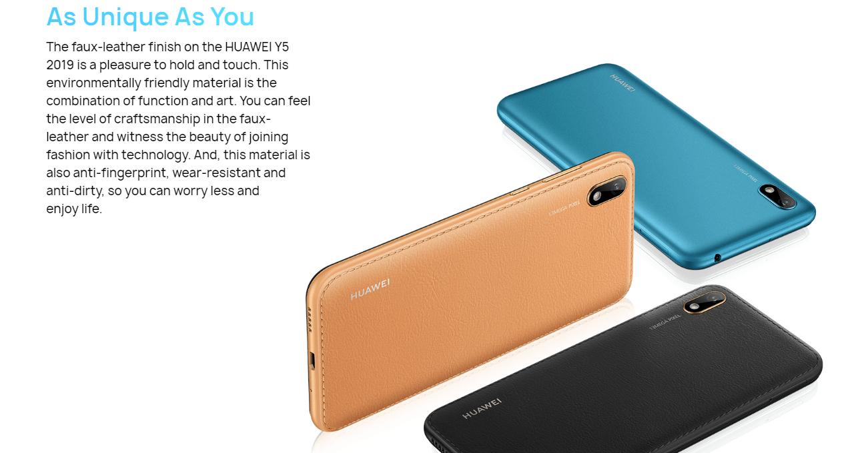Huawei Y5 2019 - 2 GB RAM - 32 GB - Black