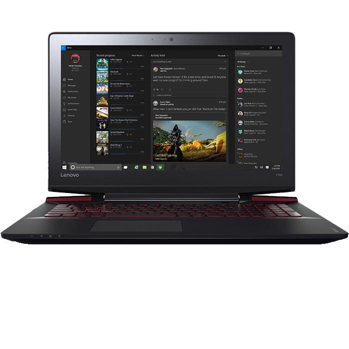 """Lenovo Ideapad Y700 (Intel Core I7-6700HQ -16GB -1Tera + 128GB SSD - Nvidia GTX 960 4GB -15.6"""" - Free Dos) Black"""